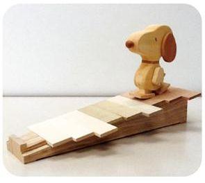 「スヌーピーの木のおもちゃ」プロジェクト