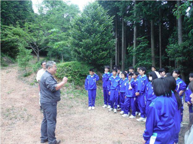 森の名手・名人の山林訪問